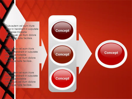 Pixel PowerPoint Template Slide 11