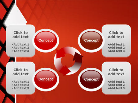 Pixel PowerPoint Template Slide 9