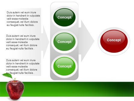 Red Apple PowerPoint Template Slide 11