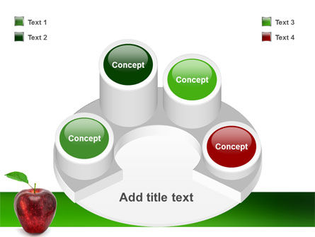Red Apple PowerPoint Template Slide 12