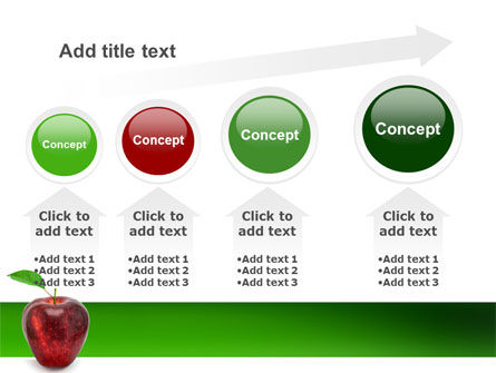 Red Apple PowerPoint Template Slide 13