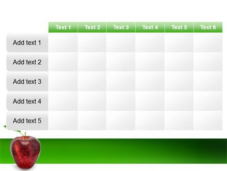 Red Apple PowerPoint Template Slide 15