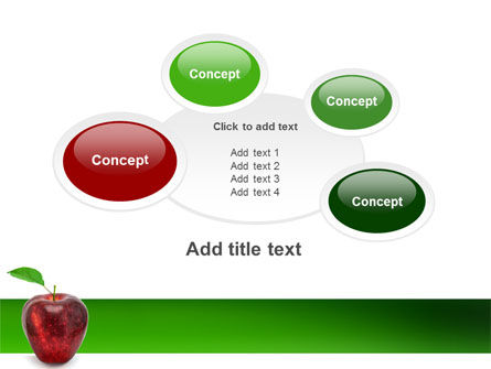 Red Apple PowerPoint Template Slide 16