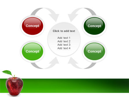 Red Apple PowerPoint Template Slide 6