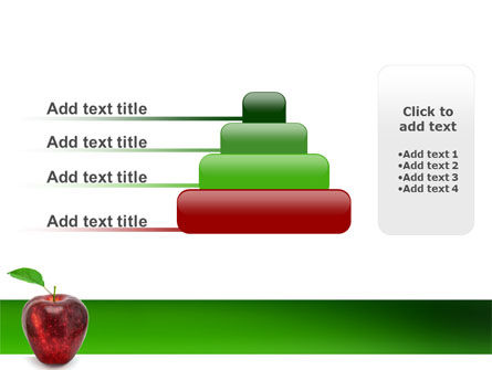 Red Apple PowerPoint Template Slide 8