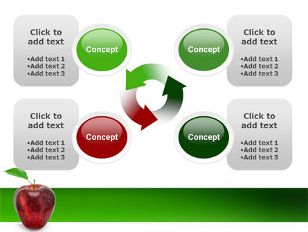 Red Apple PowerPoint Template Slide 9