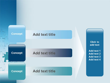 Puzzle Pyramid PowerPoint Template Slide 12