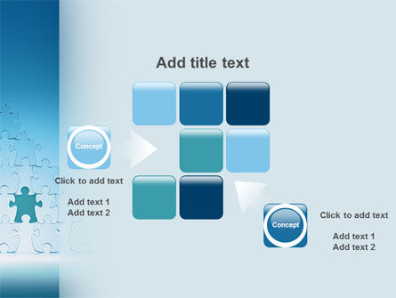 Puzzle Pyramid PowerPoint Template Slide 16