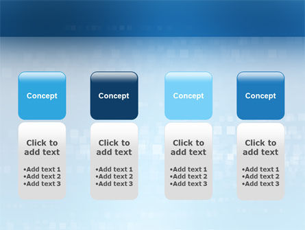 Discontinuous PowerPoint Template Slide 5