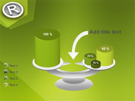 Registered Trademark PowerPoint Template Slide 10