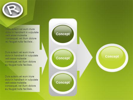 Registered Trademark PowerPoint Template Slide 11