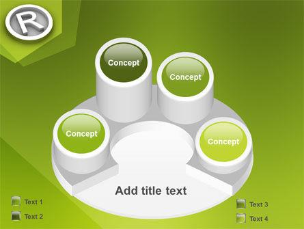 Registered Trademark PowerPoint Template Slide 12