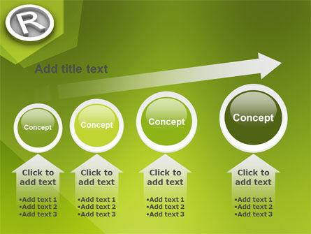 Registered Trademark PowerPoint Template Slide 13
