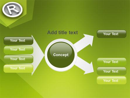 Registered Trademark PowerPoint Template Slide 14