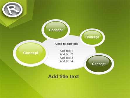 Registered Trademark PowerPoint Template Slide 16