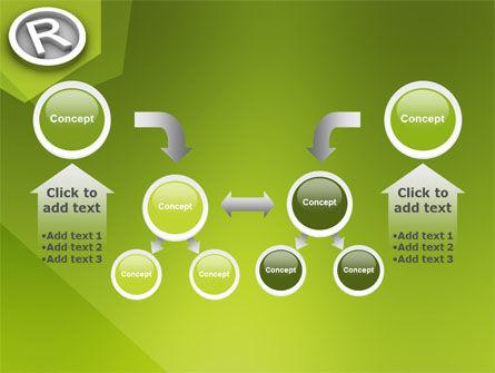 Registered Trademark PowerPoint Template Slide 19