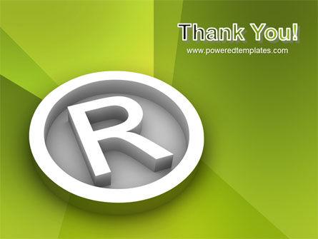 Registered Trademark PowerPoint Template Slide 20