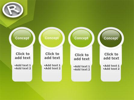 Registered Trademark PowerPoint Template Slide 5