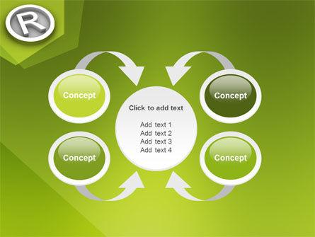 Registered Trademark PowerPoint Template Slide 6