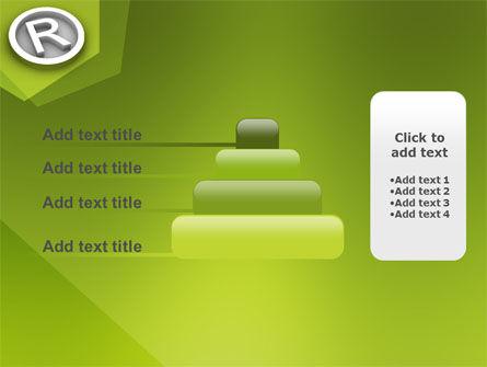 Registered Trademark PowerPoint Template Slide 8