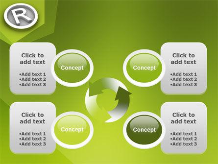 Registered Trademark PowerPoint Template Slide 9