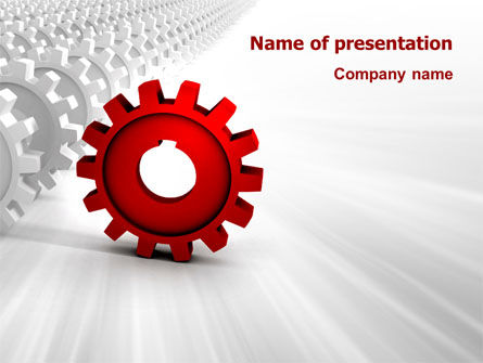 Detail PowerPoint Template, 03047, Business Concepts — PoweredTemplate.com