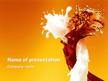 Food & Beverage: Splash PowerPoint Template #03048