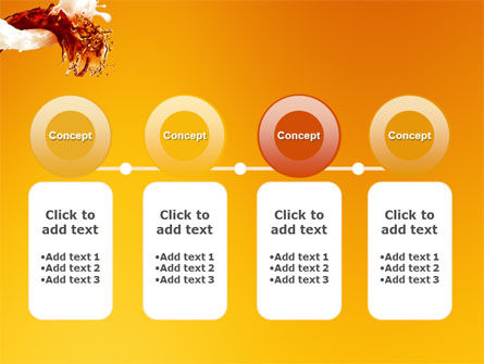 Splash PowerPoint Template Slide 5