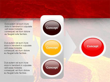 Volcano Lava PowerPoint Template Slide 11