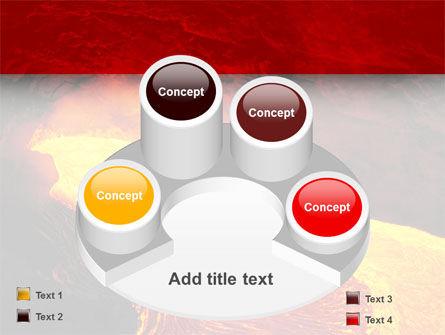 Volcano Lava PowerPoint Template Slide 12