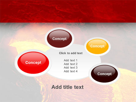 Volcano Lava PowerPoint Template Slide 16