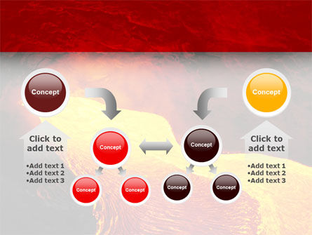 Volcano Lava PowerPoint Template Slide 19