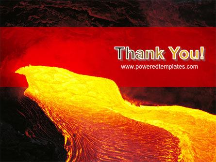Volcano Lava PowerPoint Template Slide 20