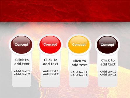 Volcano Lava PowerPoint Template Slide 5