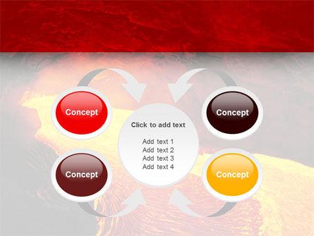 Volcano Lava PowerPoint Template Slide 6