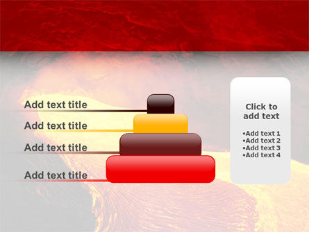 Volcano Lava PowerPoint Template Slide 8