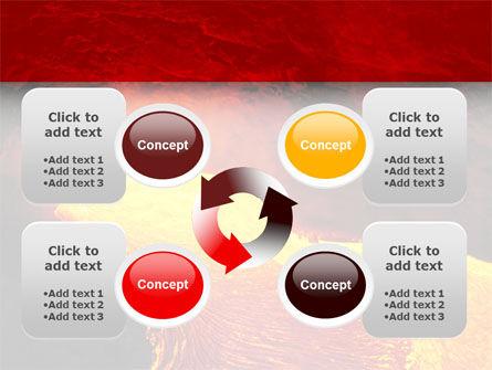 Volcano Lava PowerPoint Template Slide 9
