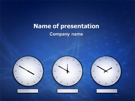 Hours PowerPoint Template
