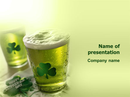 Holiday/Special Occasion: St Patrick's Day PowerPoint Template #03051