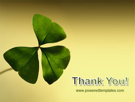Shamrock PowerPoint Template Slide 20