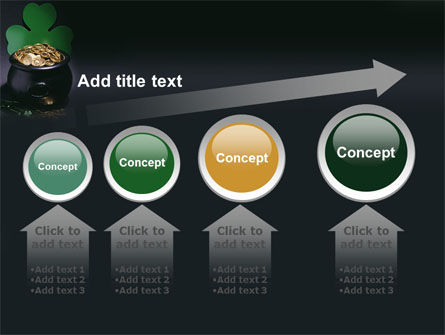 Pot of Gold PowerPoint Template Slide 13