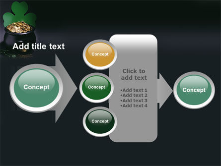 Pot of Gold PowerPoint Template Slide 17