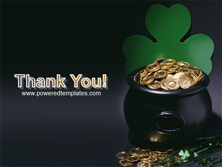 Pot of Gold PowerPoint Template Slide 20