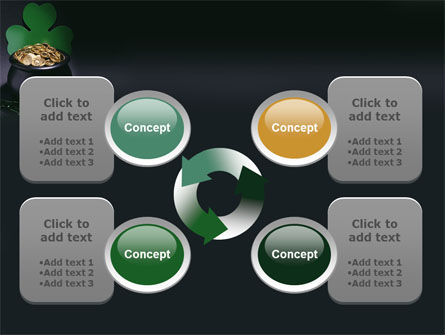 Pot of Gold PowerPoint Template Slide 9