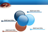 American Football Ball And Rugby Ball PowerPoint Template#10