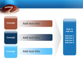 American Football Ball And Rugby Ball PowerPoint Template#12