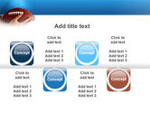 American Football Ball And Rugby Ball PowerPoint Template#19