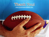 American Football Ball And Rugby Ball PowerPoint Template#20