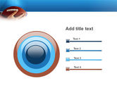American Football Ball And Rugby Ball PowerPoint Template#9