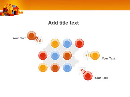 Color Bricks PowerPoint Template Slide 10